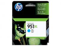 Cartucho Hewlett Packard 951 XL (CN046AL) Cyan Alto Rendimiento 53 Ml. P/Officejet Pro 8100/Officejet Pro 8600 Cod. Ci-Hp-046A00