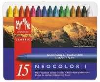 Crayon Caran Dache Neocolor x 15 Unid. Lata 7000-315 Cod. 05502501815