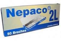 Broche Nepaco Nro. 2 L x 50 Unid. Cod. 2003
