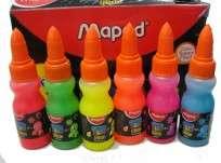 Adhesivo Maped Glue Peps Vinilico x   30 Grs. Surtido Fluo x 12 Unid. Cod. 816170