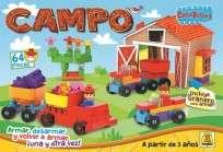 Juego Implas Bloques Y Construccion Creablocks Campo Cod.164