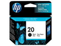 Cartucho Hewlett Packard  20 (C6614DL) Negro P/Deskjet 610C/612C 28 Ml. Cod. Ci-Hp-614Dl0