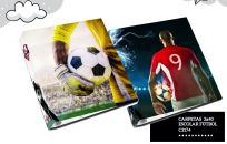 Carpeta Util Of 3 x 40 Futbol 2020 Cartone Cod. C3174