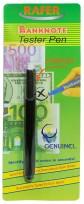Marcador Detector Rafer De Billetes Falsos Banknote Tester Pen Blister x 1 Unid. Cod. 1107986