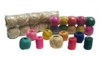Hilo Algodon Color Rosa Ovillo Nro. 3 (40 Grs./40 Mts.) 3 Hebras.Especial Para Atar Globos .Bolsa X 10 Unid. Cod. Ha40Rsa