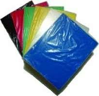 Lamina De Acetato Hl Transparente 50X70 Cm. 200Mic. Paq. X10 Hjs. Color Rojo     Cod. Ace003/R