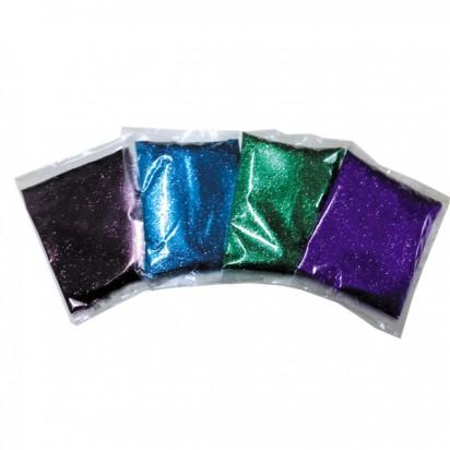 Glitter/Gibre Hl En Ziplock X 100Grs. Oro Cod. Gib001/OR