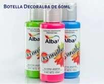 Acrilico Decoralba Decorativo Tierra Sombra Tostada x  60 Ml. Cod. 8250-468/60