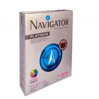 Resma Navigator Oficio 2 21,6 X 35,6 Cms 75 Grs. X 500 Hjs. Cod. Rnof75