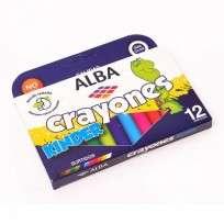 Crayon Alba x 12 Unid. Kinder Cod. 8700-888-866