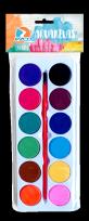 Acuarela Ezco 12 Colores en Blister Cod. 404008