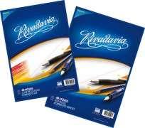 Repuesto Rivadavia A4 x  48 Hjs. Cuadriculado Con Banda Cod. 493123