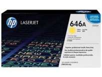 Toner Hewlett Packard 646A (CF032A) Amarillo P/Laserjet Color Cm454 Cod. To-Hp-032A00