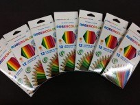 Lapices De Colores Pax  Robercolor / Hexacolor  x 12 Largos Cod. 257100Na