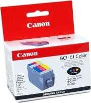 Cartucho Canon BCI-61 Tricolor P/Bjc-7000/7100 + Cabezal Cod. Ci-Cn-Bc6100