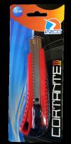 Cortante Ezco 18 Mm. Con Guia Metalica En Blister Cod. 510104