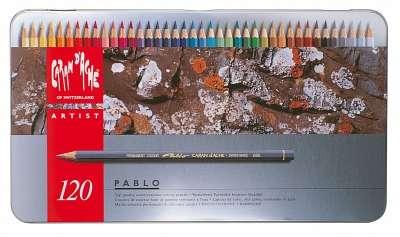 Lapices De Colores Caran Dache Pablo Colection x 120 Largos En Lata 666-420 Cod. 08902509420