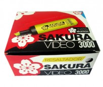 Resaltador Sakura Video 3000 Naranja Cod. 13100503054