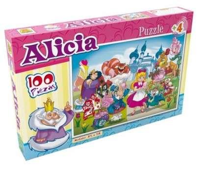 Puzzle Implas Alicia En El Pais De Las Maravillas 100 Piezas. Cod.209