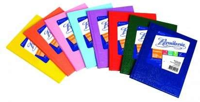 Cuaderno Rivadavia 16 x 21 Tapa Carton Araña Celeste x 50 Hjs. Rayado Cod. 357410