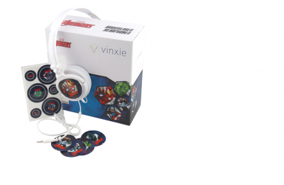 Auriculares Vinxie Disney Tipo Casco Linea Advengers Modelo 505 Premium Cod. Au-Dy-Ag505P