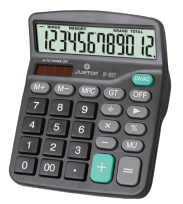 Calculadora Justop JP-837 12 Digitos Cod. JP-837