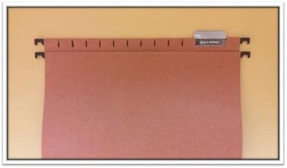Carpeta G-A Nro. 852L Oficio Colgante Ladrillo Con Varilla Plastica x 50 Unid. Cod. 852L