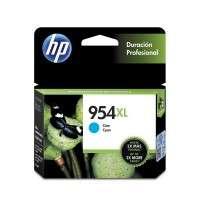 Cartucho Hewlett Packard 954 XL (L0S62AL) Cyan Alto Rendimiento P/Officejet Pro 8210/8710/8720/8730 Cod.  Ci-Hp-L0S62A