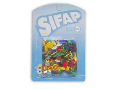 Chinches Sifap Forradas x 80 Unid. Blister  Cod. 3100604400