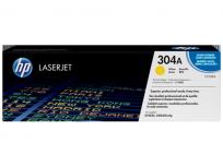 Toner Hewlett Packard 304A (CC532A) Amarillo P/Laserjet Cp2025 Cod. To-Hp-532A00