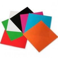 Papel Glace Luma Lustre Sobre x 10 Hjs. 15 x 15 Cms. x 50 Sobres Para Origami. Cod. 10-03