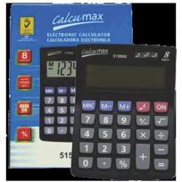 Calculadora Calcumax Mediana 14X10 Cm. 8 Dig. N£meros Grandes Cod. 5650