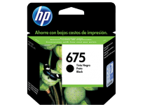Cartucho Hewlett Packard 675 (CN690AL) Negro 13,5 Ml. P/Officejet 4000/440/4575 Cod. Ci-Hp-690A00