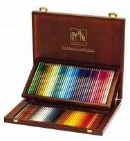 Lapices De Colores Caran Dache Artist Supracolor x  80 Largos En Caja De Madera 3888-480 Cod. 08902511480