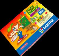 Block Luma Para Dibujo Nro. 6 Color x 24 Hjs. Cod. 81-61