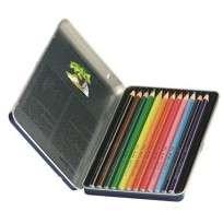 Lapices De Colores Giotto Stilnovo Acuarelable x 12 Largos Lata Cod. 256200Ot