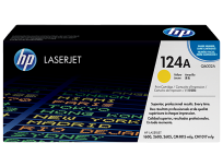 Toner Hewlett Packard 124A (Q6002A) Amarillo P/Laserjet Color 2600N Cod. To-Hp-600200