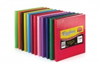 Cuaderno Triunfante 16 x 21 Tapa Carton Araña x 50 Hjs. Rayado  Caja x 60 Unid. Col.Surtidos - 90 G/M2 Cod. 1621CS