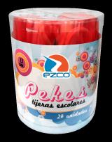 Tijera Escolar Ezco Linea Pekes 12 Cms. Tubo Plastico x 24 Unid. Cod. 510450