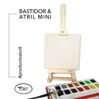 Bastidor Turk Mini Atril + Bastidor Turk 20 X 20 Cms. Cod.3013