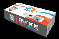 Goma De Borrar Ezco Gris Y Blanca Lapiz/Tinta Dg 60 x 60 Unid. Cod. 200060