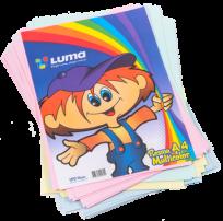Resma Luma A4 Multicolor x 100 Hjs.  Cod. 22-05