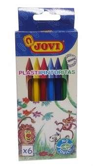 Plastipinturita Jovi x  6 Cortos Blister Cod. 0950019906