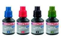 Tinta Edding Para Marcador Para Pizarra E-B T30 X 30 Ml.  Rojo Cod.2930002
