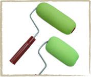 Rodillo Turk Mini De Poliuretano Entelado Para Pintar  8 Cms. Cod. 6038