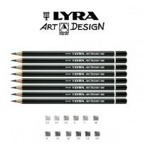 Lapiz Grafito Lyra Rembrandt Art-Design 3B Cod. 1110103