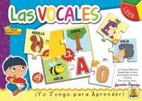 Juego Didactico Y Educativo Implas Las Vocales Cod.330