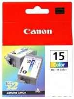 Cartucho Canon BCI-15 Tricolor P/I-70 3 Tricolores Sin Cabezal Cod. Ci-Cn-L15C00