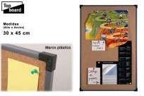 Pizarra Top Board Corcho Kp 9012    90 X 120 Cm Cod.226313000
