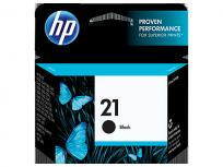 Cartucho Hewlett Packard  21 (C9351AL) Negro 7 Ml. P/Deskjet 3910/3920/3930/3940/Multifuncion 1410 Cod. Ci-Hp-935100